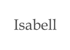 Isabell Logo