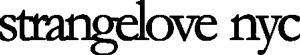 Strangelove NYC Logo