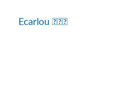 Ecarlou 露嘉伊