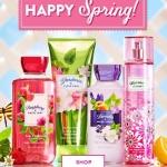 Bath & Body Works - Четыре новых весенних аромата
