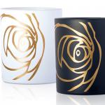 ROSE BLANCHE и ROSE NOIRE: ароматизированные свечи  от Les Parfums de Rosine