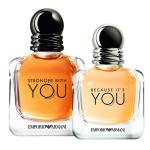 Giorgio Armani Emporio Armani Because It's You и Stronger With You