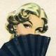 Mais Oui Bourjois: Винтажный аромат, Флакон и Постеры