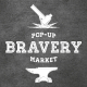 Парфюмерные инсталляции в рамках Pop-Up Bravery Market