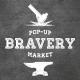 Парфюмерные инсталляции в рамках Pop-Up Bravery Market