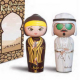 Arabian KOKESHI: Amber и Oud